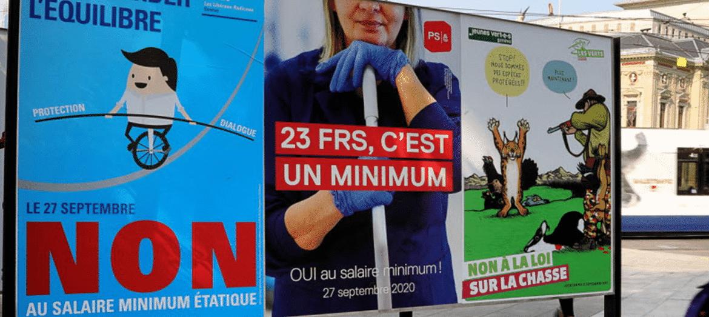 Salaire minimum à genève - image mise en avant
